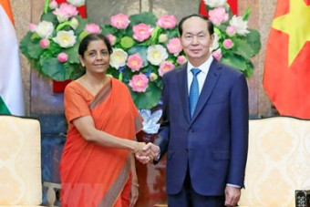President voices support for stronger Vietnam-India defence ties