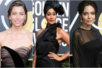 Golden Globes red carpet: Who wore black the best and worst