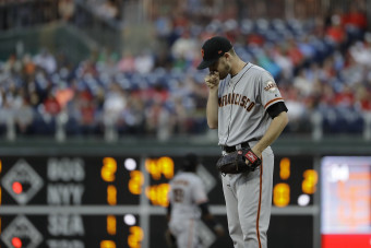 Giants' Stratton can't stop Phillies in another big defeat