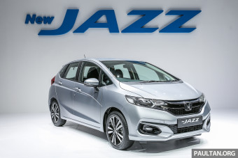 2017 Honda Jazz facelift launched in Malaysia