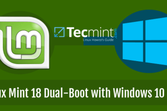 How to Install Linux Mint 18 Alongside Windows 10 or 8 in Dual-Boot UEFI Mode