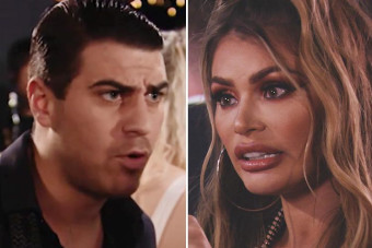 Towie's Jon Clark lashes out at Chloe Sims and says he 'doesn't give a f**k' after furious bust up