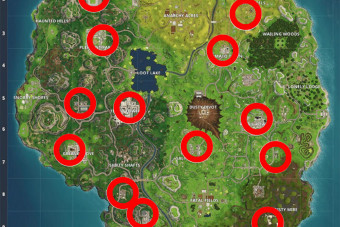 Fortnite Hungry Gnomes MAP – our gnome locations guide reveals where to find them all