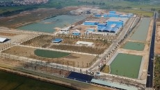First phase of Duong River surface water treatment plant completed