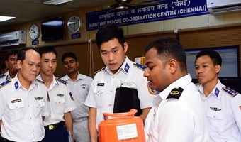 VCG's image to be promoted in international arena: Coast guard chief