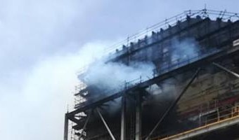 Fire at Duyen Hai 3 thermal power extension project