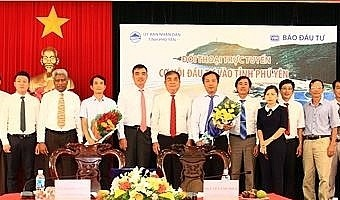 VIR's web chat: Opportunities for Phu Yen investment promotion