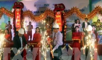 Ground breaking ceremony held for Phu Yen's first solar power plant