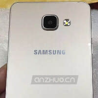 Photos of the second-generation Samsung Galaxy A5 and second-generation Samsung Galaxy A7 appear