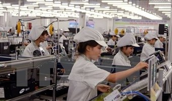 National industrial production index hits 11.6 percent