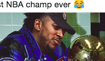 Everyone is celebrating the fact the Warriors' Nick Young is now an NBA champion