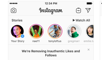 instagram cracking down on fake followers