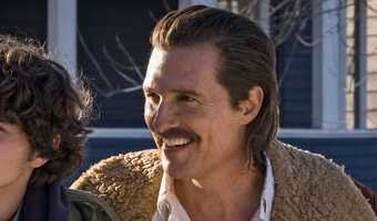 For Matthew McConaughey, 'White Boy Rick' is a family affair