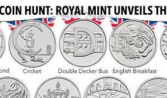 Royal Mint sparks coin hunt with 26 new 10p coins spelling the ALPHABET