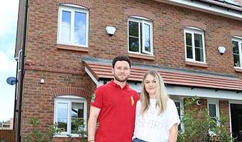 Young couple's race against time to pay off £40k Help to Buy loan for three-bed town house