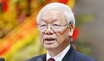 National Assembly's voting for Party chief Trong to become President held today