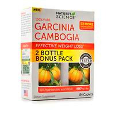 100 Pure Garcinia Cambogia Nature Science Weight Loss