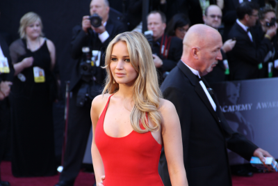Jennifer Lawrence fetched from Wikimedia and delivered as a PNG