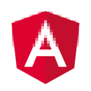 Angular logo transformation