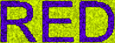 Red and green colors changed to purple and yellow