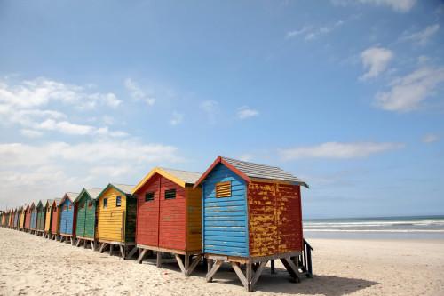 Auto corrected beach image