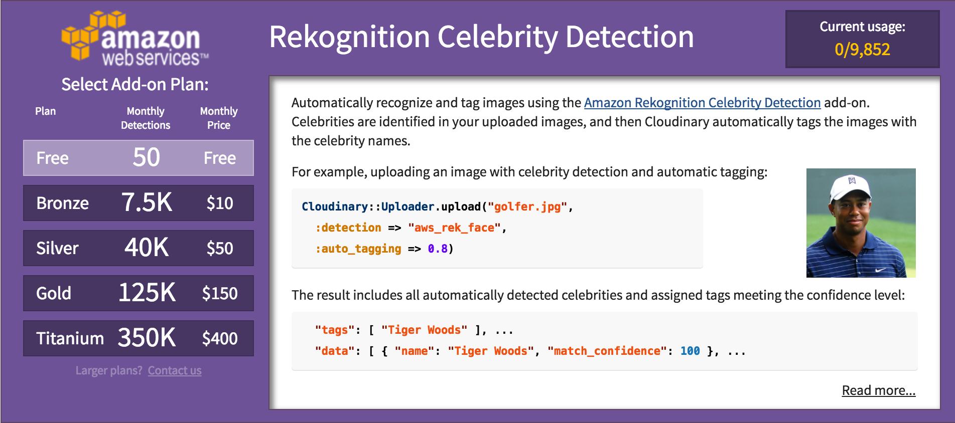 celebrity detection