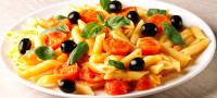 Pasta cropped with Imagga