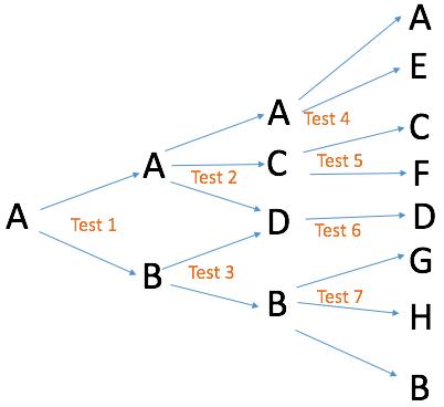 Test segmentation