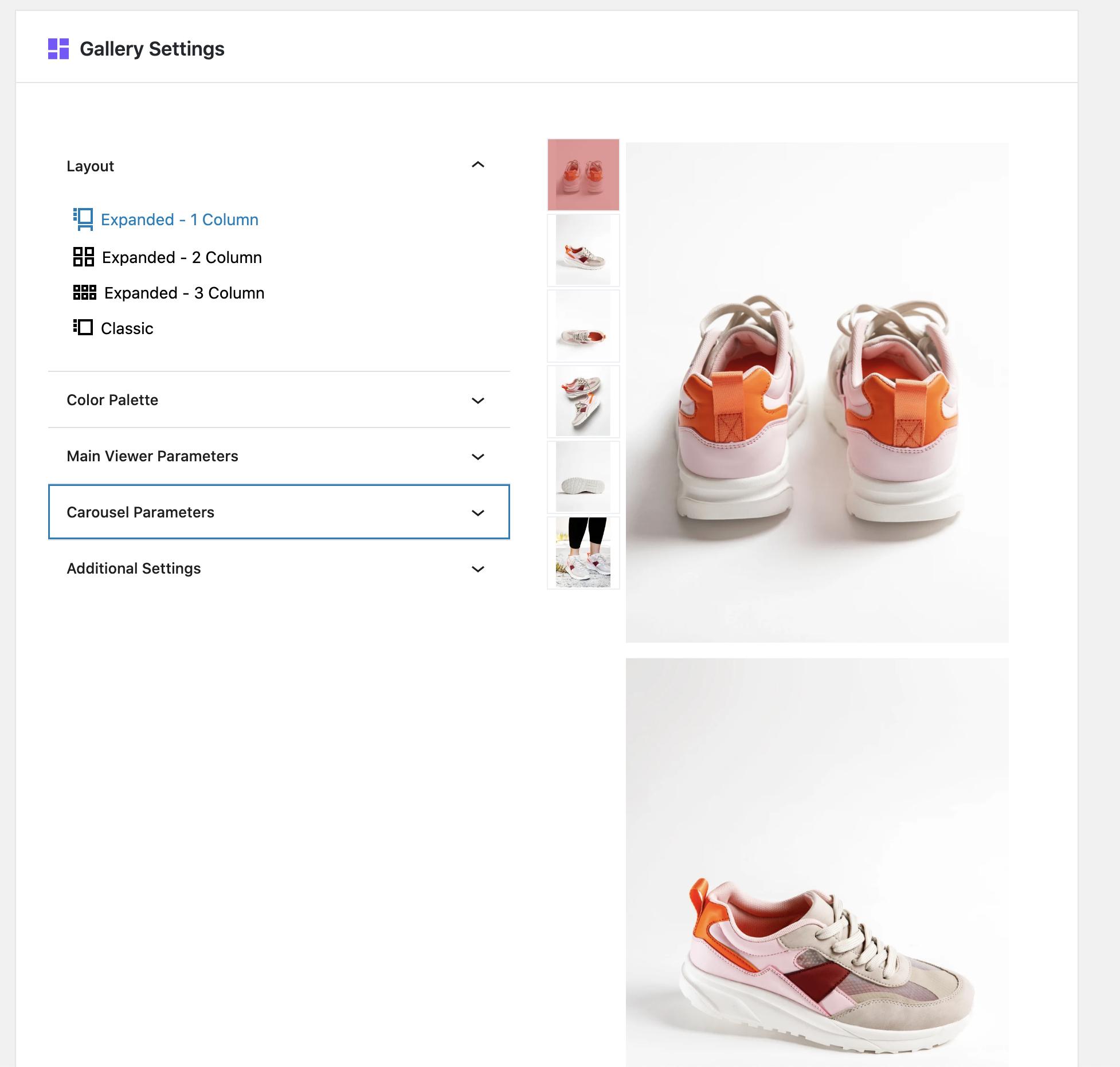 Cloudinary WordPress Dashboard