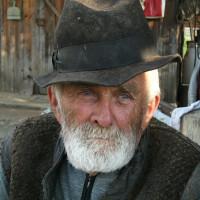 old man target photo