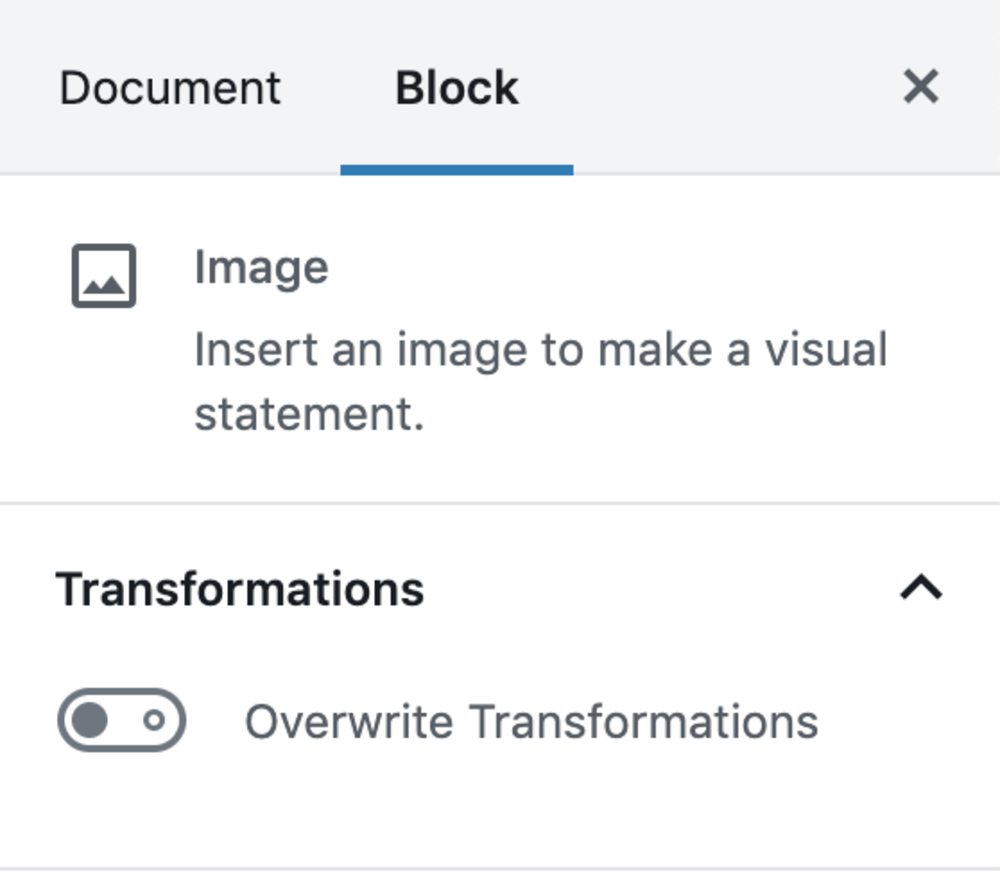 Gutenberg individual level transformations