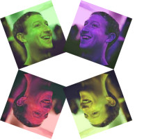 Facebook Pictures, Multiple Overlays, Face Detection, Rotation, Flipping, Hue Changes