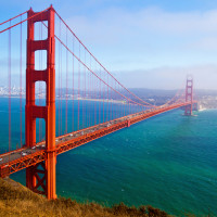 Golden gate bridge - target photo