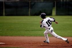 Baseball player - original photo