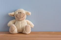 stuffed sheep - original