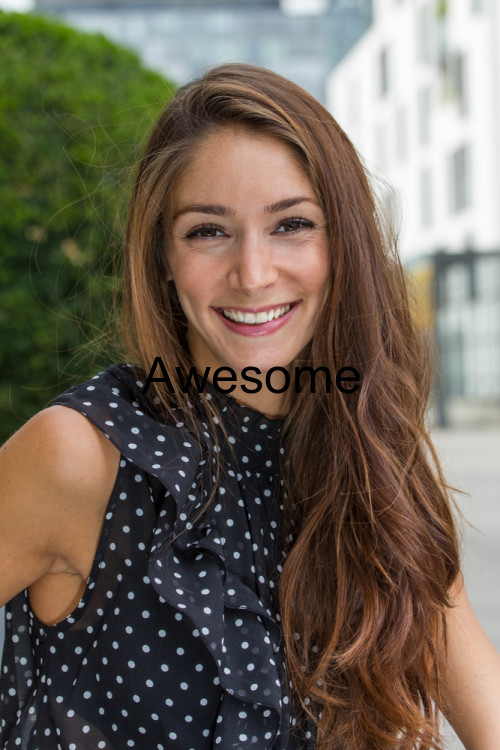 Awesome/lady