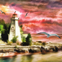 Lighthouse - source artwork