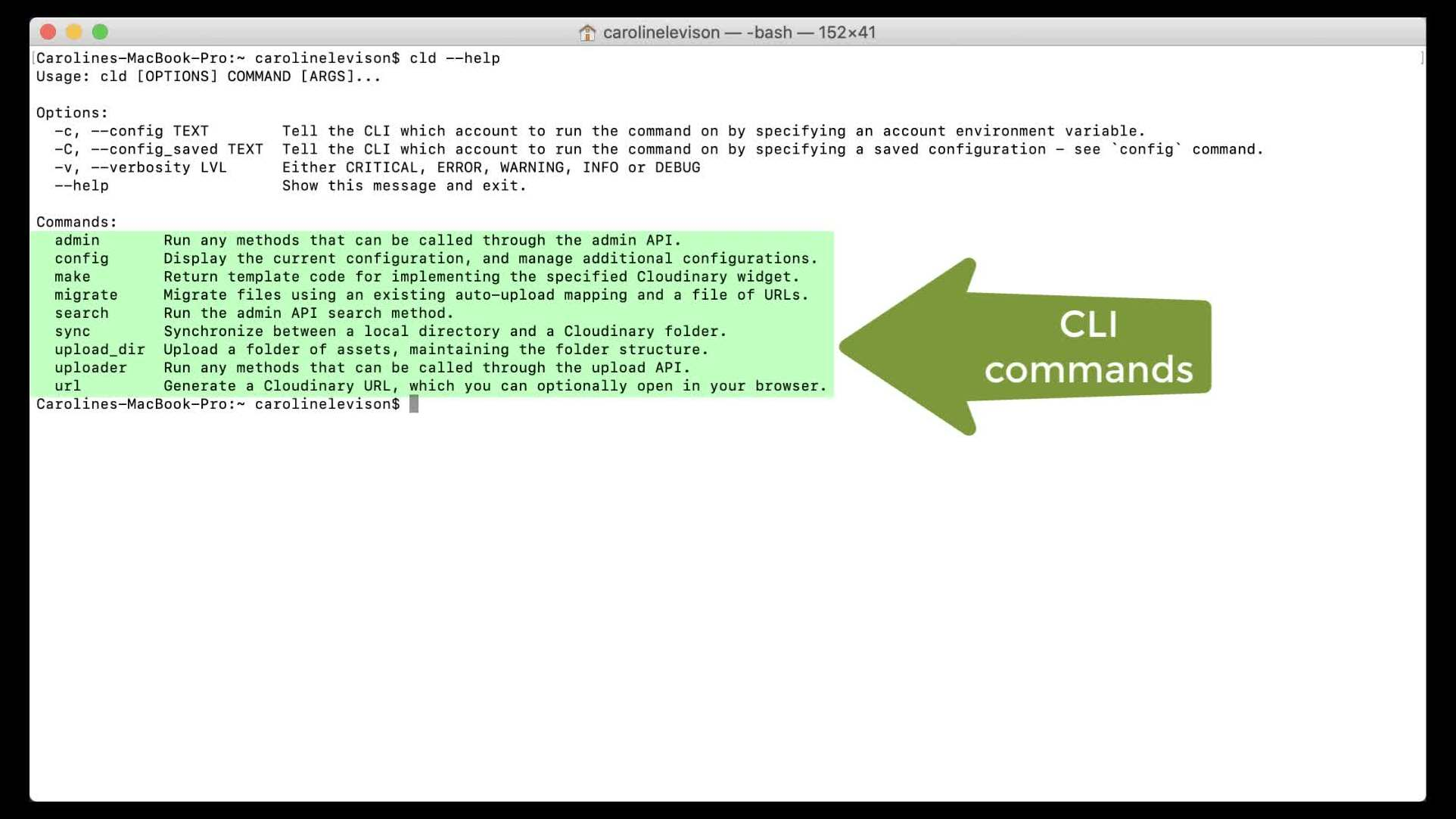 Get Started with the CLI