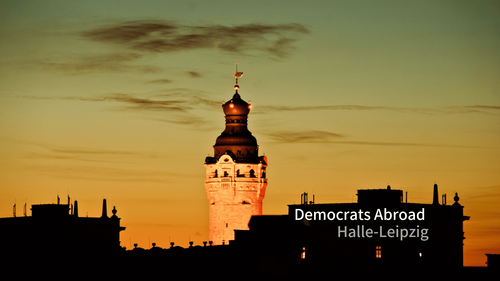 Democrats Abroad Leipzig Halle May Meeting