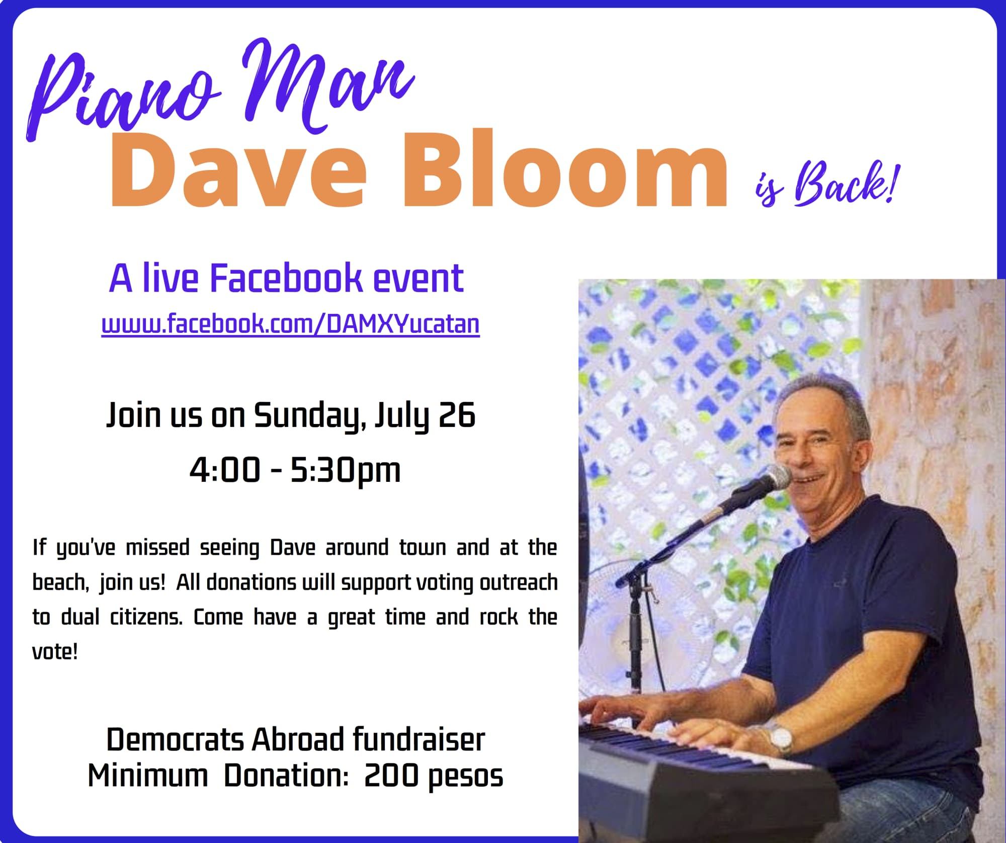 Dave Bloom - Piano