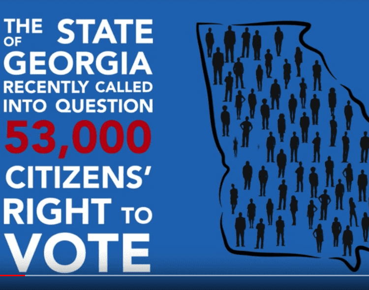 Georgia voters challenged