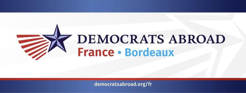Democrats abroad bordeaux chapter logo