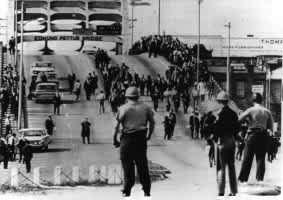 Edmund Pettus Bridge, Bloody Sunday, 1965