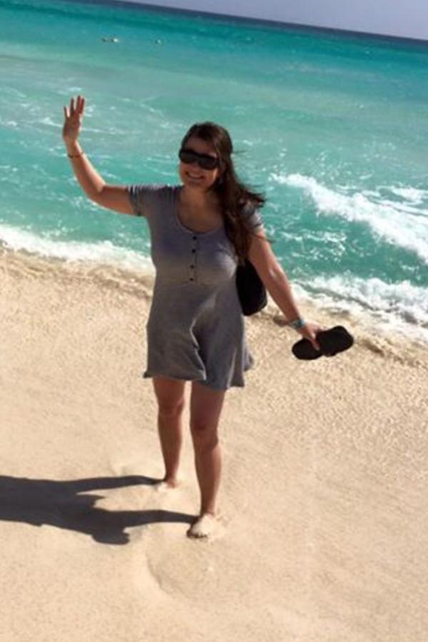 Kim in Cancun
