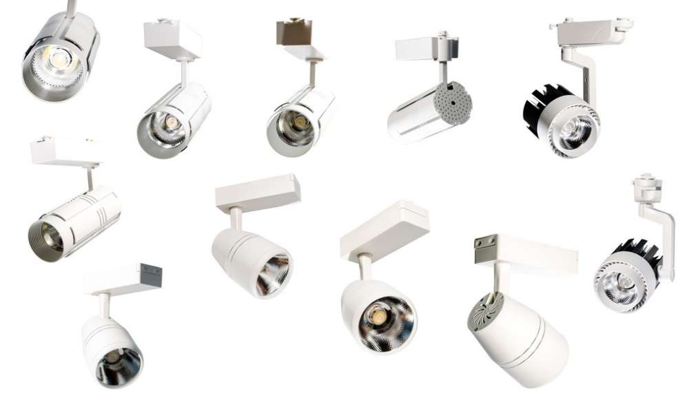 Various Types of Track Lighting Connectors