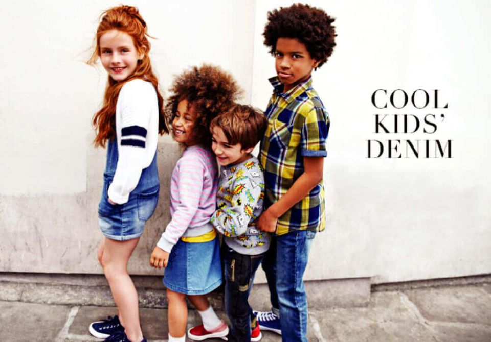 cool kid's denim
