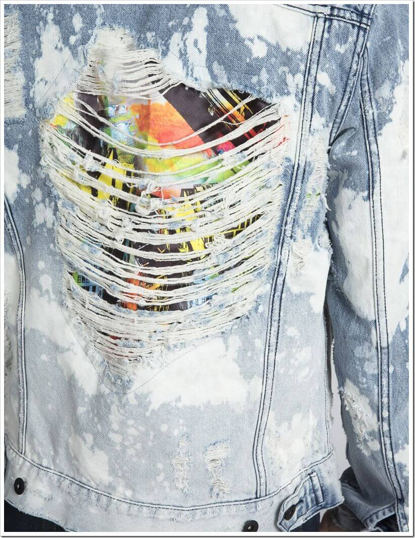city scapes denim jacket