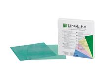 Dental Dam green heavy 152x152mm  img