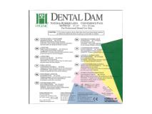 Dental Dam green medium 152x152mm  img