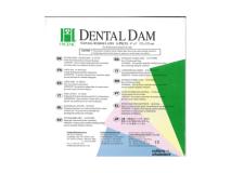 Dental Dam dark medium 15x15cm  img